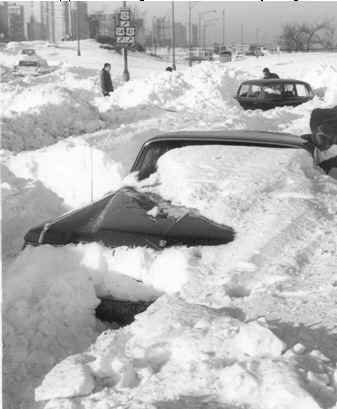 Blizzard of 1967 Chicago Snow Storm